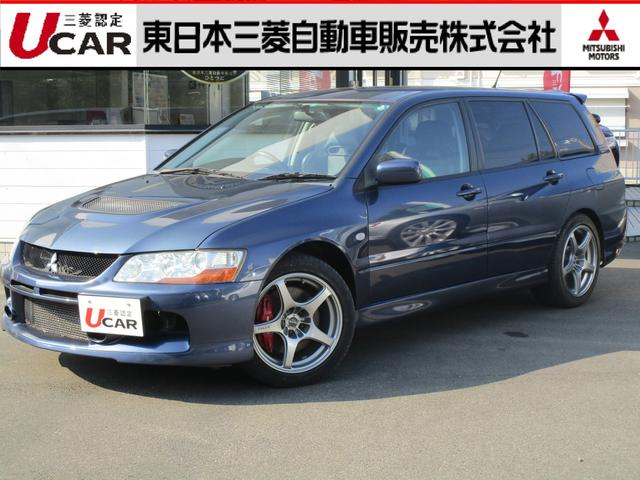 三菱 20エボワゴン GT 4WD 6MT 禁煙車 ナビ I/C