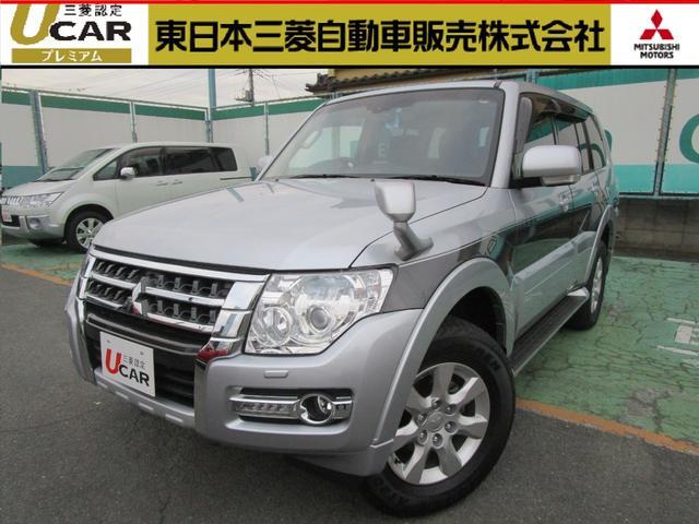 三菱 4WD 3.0 ロング エクシード サンルーフ 車検整備付