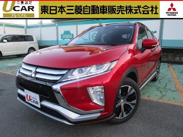 三菱 エクリプスクロス 4WD ターボ 1.5 GプラスP サンル...