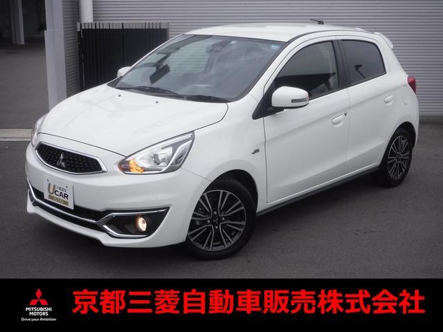 三菱 1.2 G 元試乗車 三菱認定中古車保証 衝突軽減ブレーキ