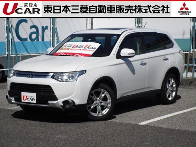 三菱 2.4 24G ナビパッケージ 4WD 電動テールゲート装備