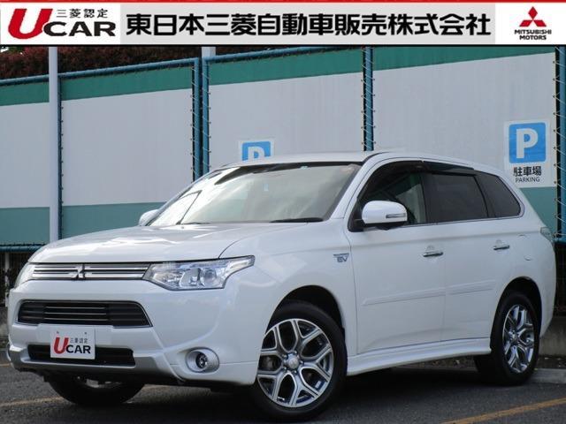 三菱 2.0 G ナビパッケージ4WD 本革シート シートヒーター