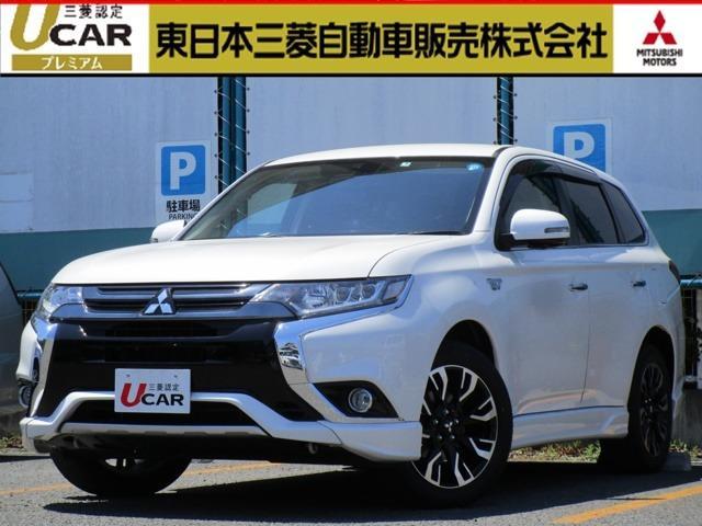 三菱 2.0 G プレミアムパッケージ 4WD 革シート