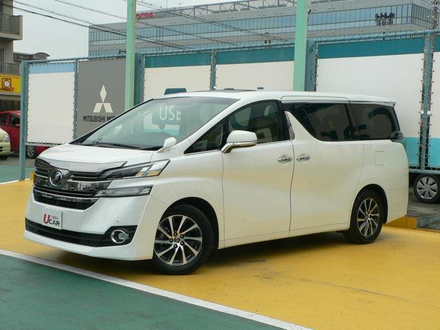 トヨタ 2.5 V・10インチナビ・TV・12.1後席ディスプレイ