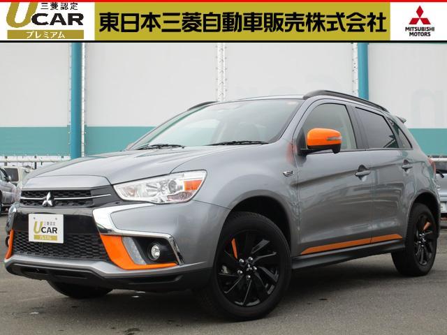 三菱 1.8アクティブギア4WD元試乗車 禁煙 限定車 電動シート