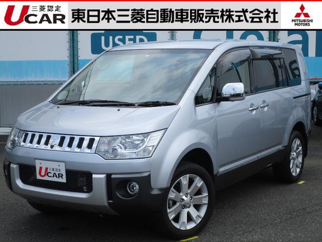 三菱 シャモニー 4WD ナビ バックカメラ 禁煙車 パワーシート