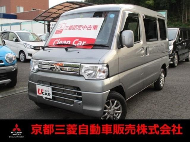 三菱 ミニキャブバン ブラボー ターボ車4WD 4速AT 布シート パワーウインド