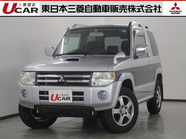 三菱 660 エクシード 4WD ワンオーナー メモリーナビ
