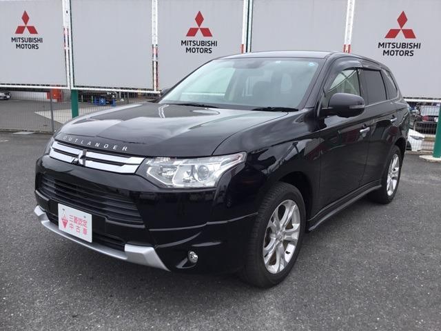 三菱 2.4 24G ナビパッケージ 4WD 宮城三菱認定中古車