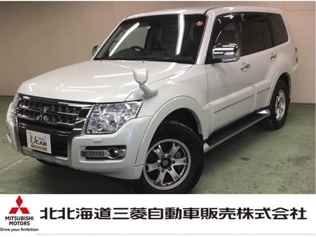 三菱 ロング スーパーエクシード Dターボ 4WD 純正ナビ