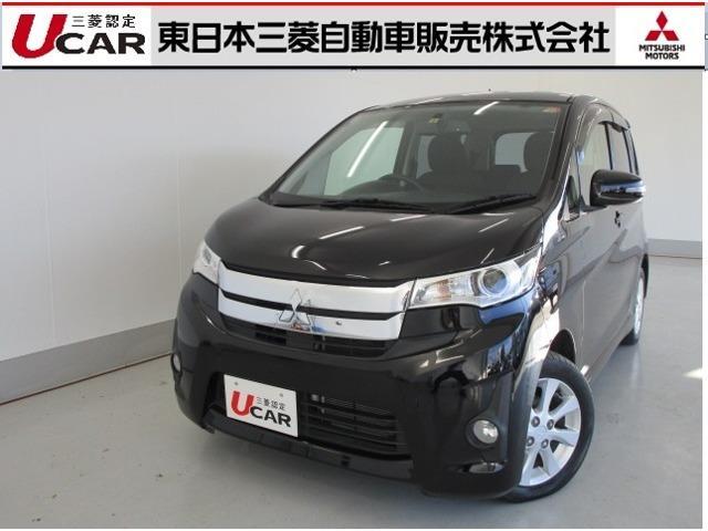三菱 eKカスタム 660 G 4WD SDナビ TV バックカ...