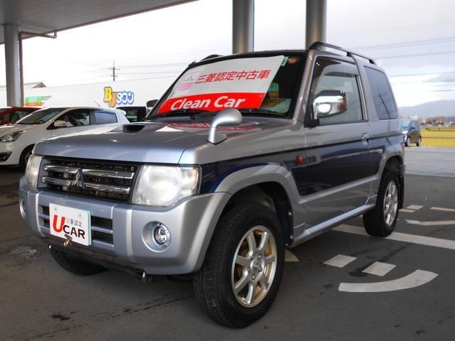 三菱 パジェロミニ 660 エクシード 4WD (車検整備付)