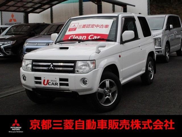 三菱 ホワイトパールセレクト 4WD革巻ステアリング シートヒータ