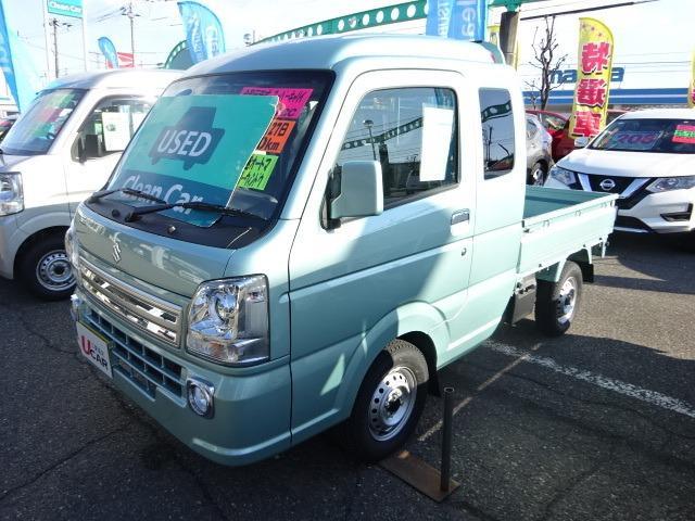スズキ 660 スーパーキャリイ X 3方開 4WD