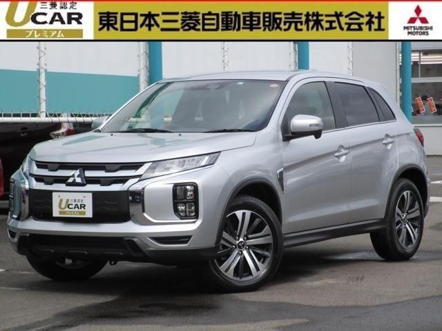 三菱 1.8G  4WD 試乗車UP サポカーS スマホ連携ナビ