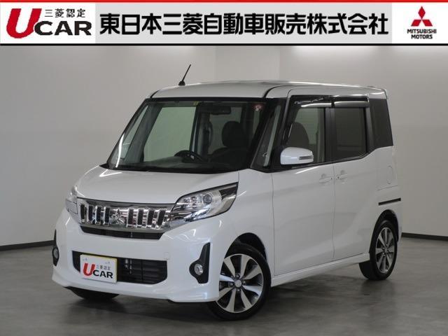 三菱 660 カスタム T ナビ&フルセグTV ETC