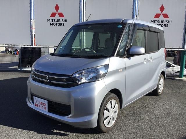 三菱 eKスペース 660 E キーレスエントリー ナビ付き 宮城三菱認定中古車