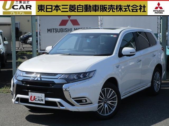 三菱 2.4 G 4WD 11型ナビ 電気温水 車両検知 社有車