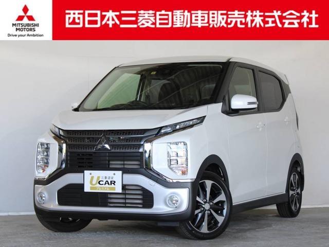 三菱 eKクロス T 距離無制限保証1年付 オーディオレス車 スマートキー付