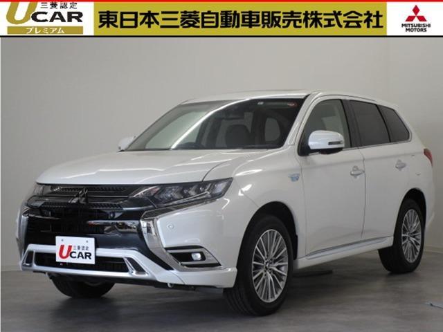 三菱 アウトランダーPHEV 2.4 G4WD サポカーS スマートフォン連動ナビ TV付