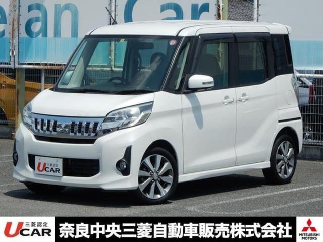 三菱 eKスペースカスタム 660カスタムT 4WD ナビ ワンオーナー シートヒーター