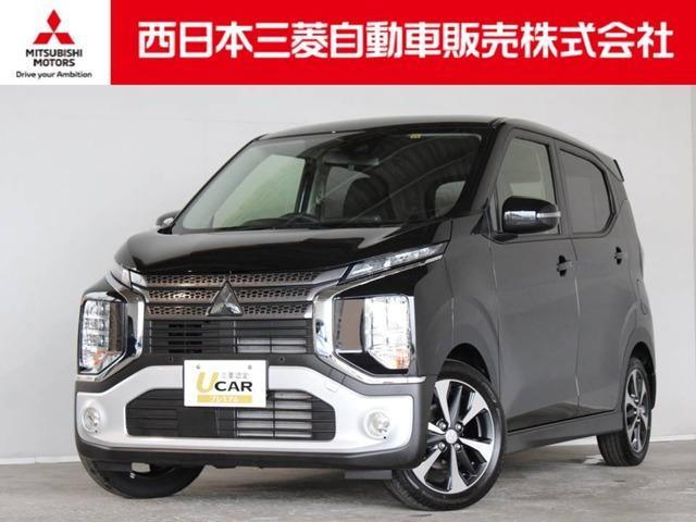 三菱 eKクロス G 距離無制限保証3年付 CDデッキ LEDヘッドライト付