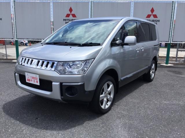 三菱 デリカD:5 2.4 M 4WD  ナビTV付き 宮城三菱認定中古車