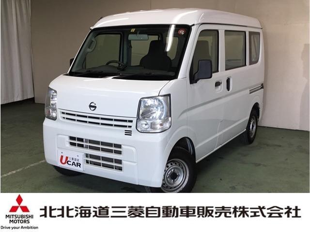 日産 NV100クリッパーバン DXハイルーフ 5AGS ナビ ETC 4WD