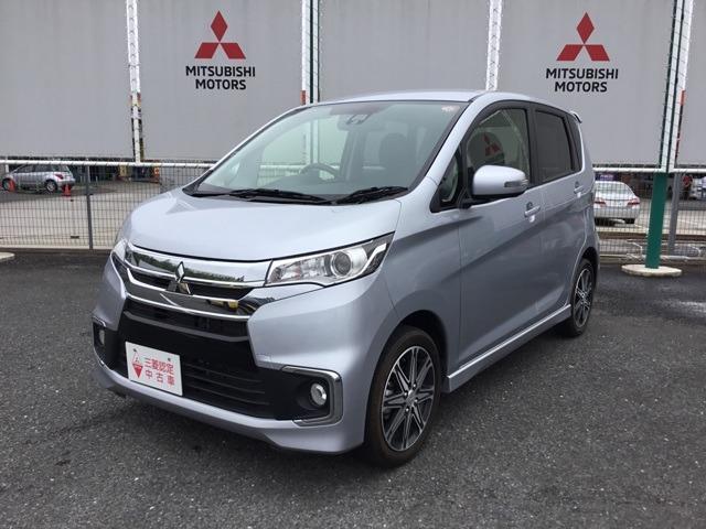 三菱 eKカスタム 660 Tターボ セーフティパッケージ 宮城三菱認定中古車