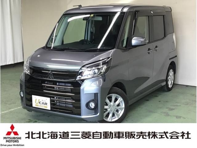 三菱 eKスペースカスタム カスタムG eアシスト ナビ Bカメラ LEDヘッド 4WD
