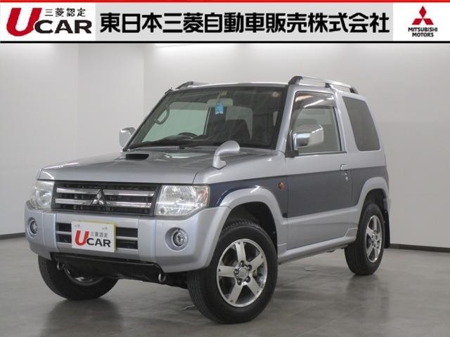 三菱 パジェロミニ 660 エクシード 4WD ナビゲーション