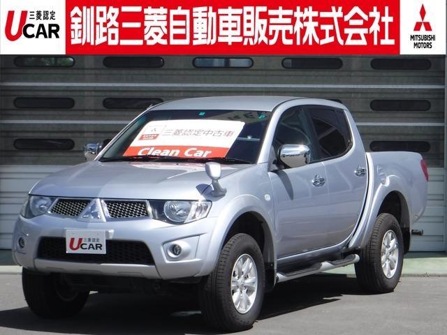 「三菱」「トライトン」「SUV・クロカン」「北海道」の中古車