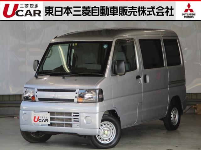 三菱 ミニキャブバン CL 660 禁煙車 5速マニュアル エアコン パワステ パワーウィンド- 車検整備付き CDステレオ 集中ドアロック