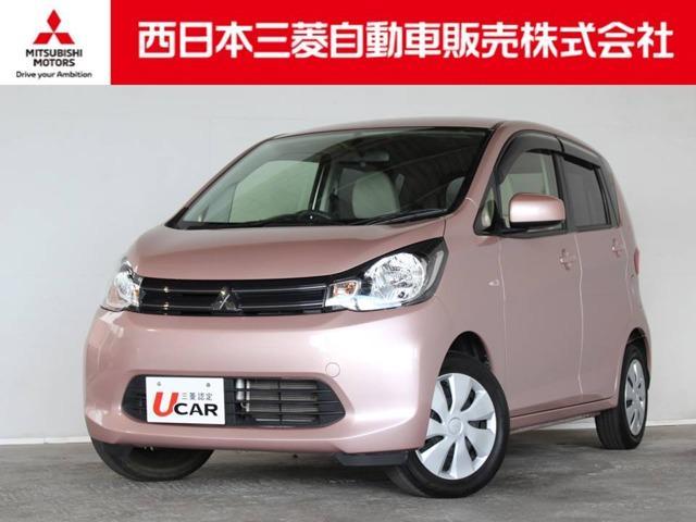 三菱 eKワゴン M 距離無制限保証1年付 CDデッキ付