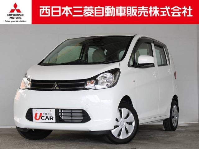 三菱 eKワゴン E e-アシスト 距離無制限保証1年付 CDデッキ付