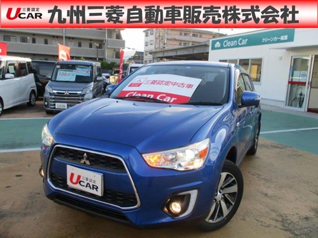 三菱 RVR G 三菱認定中古車保証1年付2WD