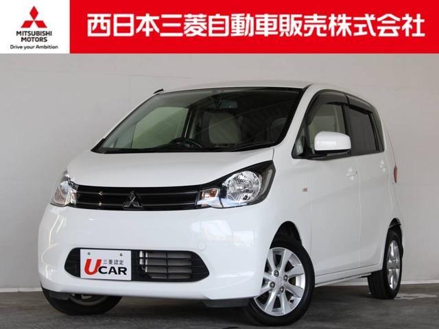 三菱 eKワゴン G 距離無制限保証1年付 CDチューナー付