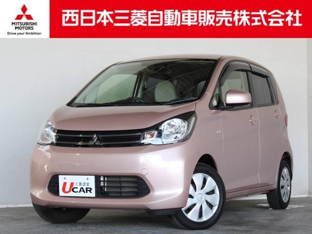 三菱 eKワゴン M e-アシスト 距離無制限保証1年付 CDチューナー付