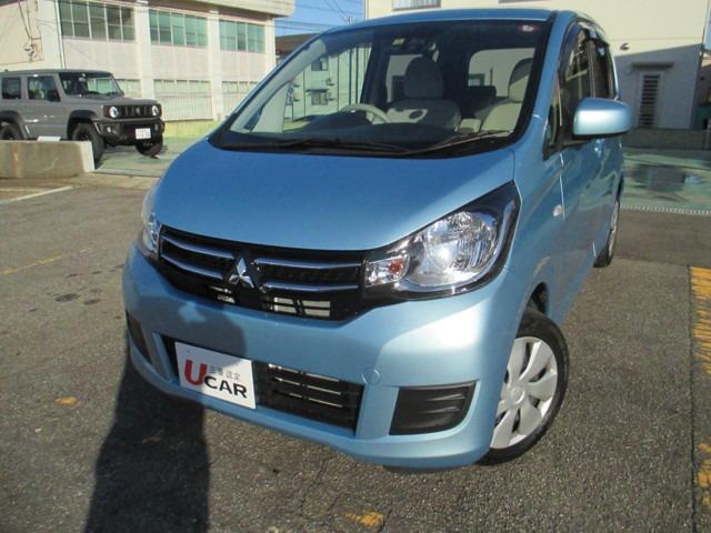 三菱 eKワゴン M e-アシスト ナビ 1年保証 車検整備付