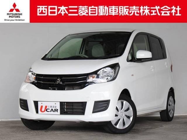 三菱 eKワゴン M 距離無制限保証1年付 メモリーナビ付