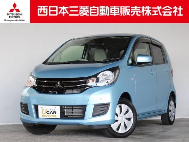 三菱 eKワゴン M e-アシスト プラスエディション 距離無制限保証3年付 メモリーナビ付