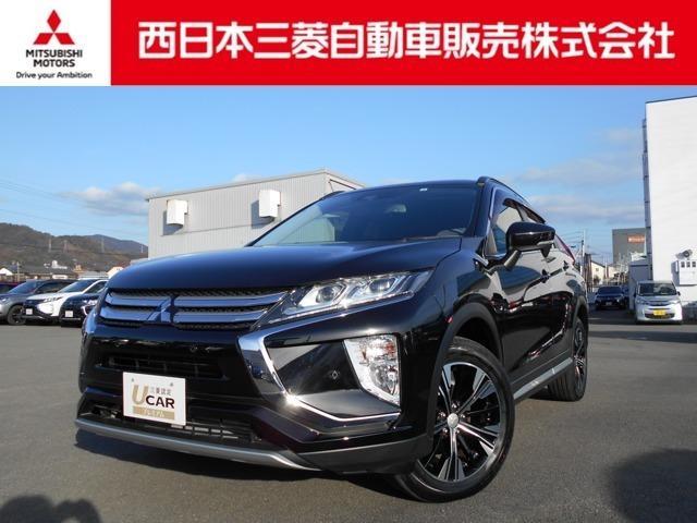 三菱 エクリプスクロス G フルセグTV・DVDビデオ機能付きナビ搭載車.