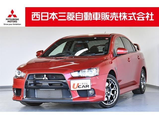 三菱 エボリューション ファイナルエディション メモリーナビ・フルセグTV・バックカメラ