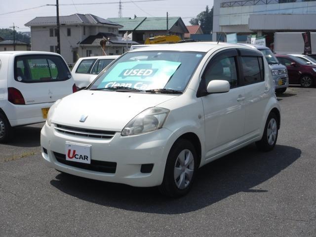 トヨタ パッソ G ウェルキャブ 助手席リフトアップシート車 Aタイプ 電動リモコン・HDDナビ・バックカメラ・ETC