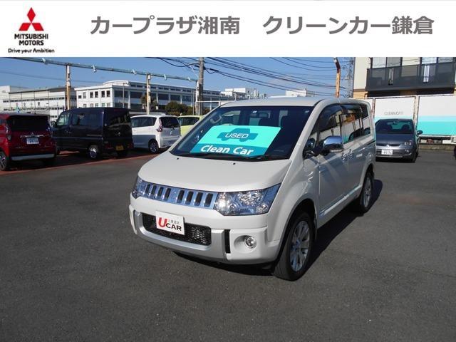 三菱 デリカD:5 シャモニー 9インチナビTV