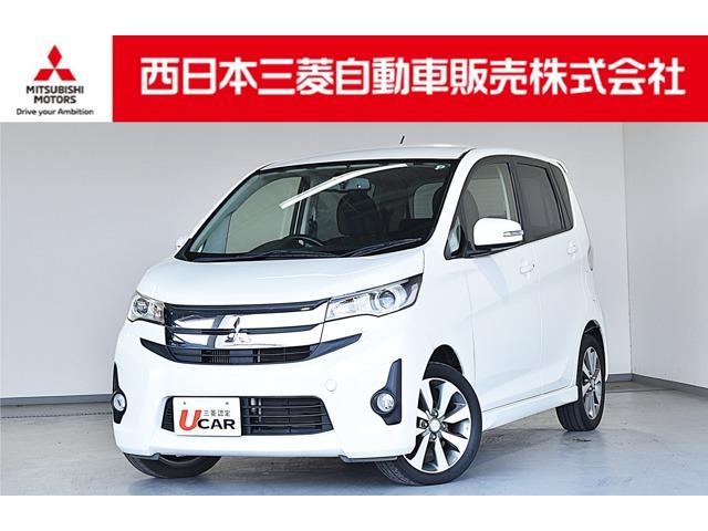 三菱 eKカスタム T メモリーナビ・フルセグTV・バックカメラ