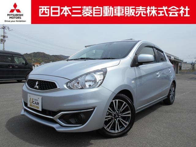 三菱 ミラージュ M バックカメラ・ETC・TV・CD・ナビ搭載車