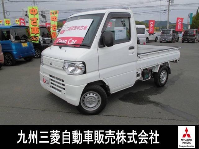 三菱 ミニキャブトラック みのり 4WD5速ワンオーナ三菱ダイヤモンド保証 PS AC 4WD ワンオーナー