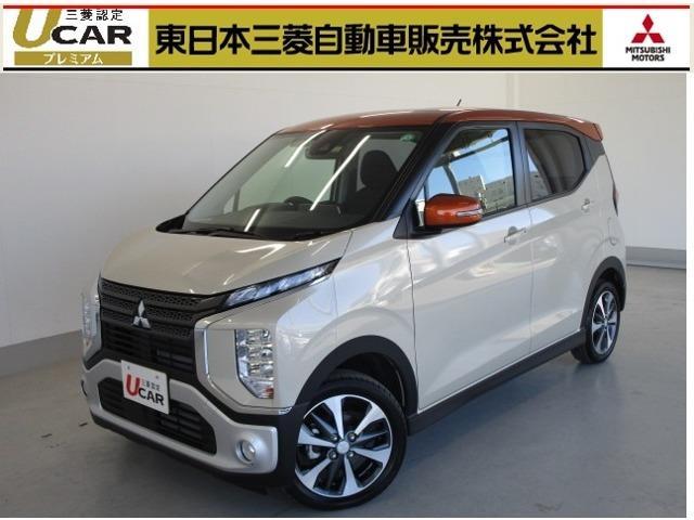 eKクロス(三菱) T 社有車UP 衝突被害軽減ブレーキ 誤発進抑制 中古車画像