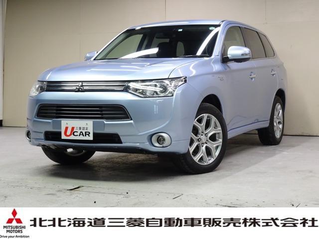 三菱 Gプレミアムパッケージ ロックフォード付ナビ 本革シート AC100V